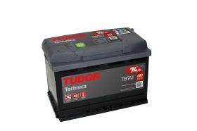 Tudor TB741 - Batería 70Ah/540A + IZQ, 270+173+222mm