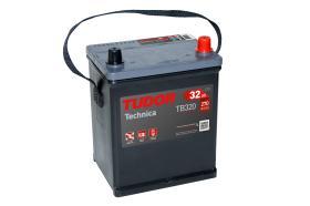 Tudor TB320 - Batería 110Ah/850A, + DER, 392+175+190mm