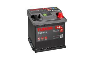 Tudor TB440 - Batería 35Ah/240A + IZQ, 187+127+220mm