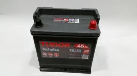 Tudor TB450 - Batería 44Ah/420A + DER, 207+175+175mm