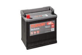 Tudor TB451 - Batería 45Ah/330A + DER, 220+135+225mm