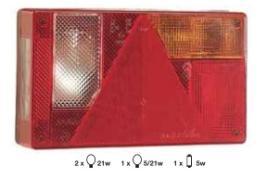 Indere A1110 - LINTERNA EMERGENCIA(SIN PILAS)