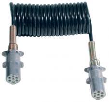 Menber's 00552500 - ESPIRAL 7 POLOS 24V BASE NEGRA