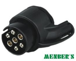 Menber's 00560400 - ADAPTADOR 13P A 7P REMOLQUE