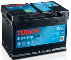 Tudor TK700 - BATERIA 60 AH.
