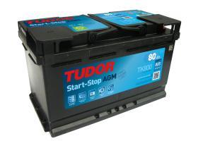 Tudor TK800 - Batería 70Ah/760A + DER, 278+175+190mm