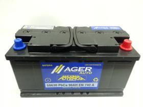 Baterías Ager 59630 - BATERIA 74AH 680A + DER