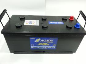 Baterías Ager 68034 - Bateria 180AH/1100A + IZQ, 513x223x220mm