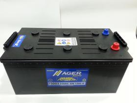 Baterías Ager 73003 - Bateria 180AH/1100A + DER, 513x223x220mm