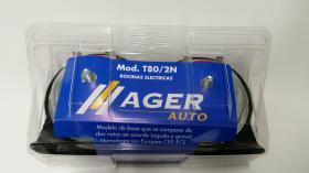Agerauto T802N12V - AVISADOR ACUSTICO 12/48V 110DB