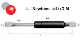 Montcada 08275600 - RESORTE GAS 175-300-8/18 M6