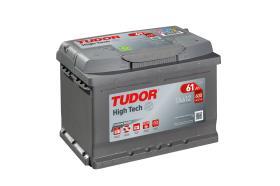 Tudor TA612 - Batería 53Ah/540A + DER, 207+175+190mm