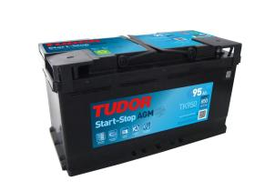 Tudor TK950 - Batería 80Ah/800A + DER, 315+175+190mm