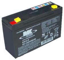 MK Powered ES126 - BATERIA AGM 12V 12AH   151X99X100